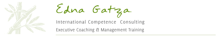 Edna Gatza - International Competence Consulting, Executive Coaching & Management Training